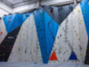 impact custom climbing wall