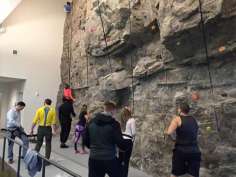 Impact climbing natural rock texture
