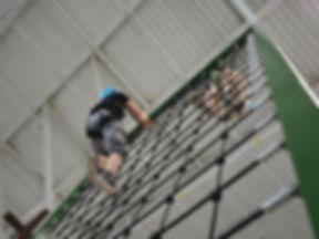 impact ninja adventure course cargo net obstacle