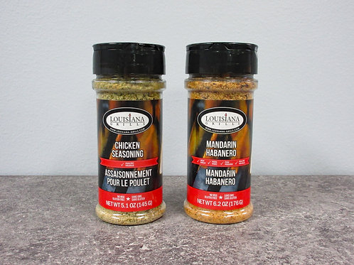Louisiana Grills Signature Spices & Rubs