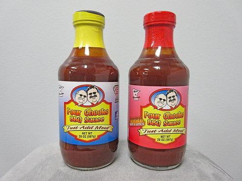 20 oz. Four Cheeks BBQ Sauce