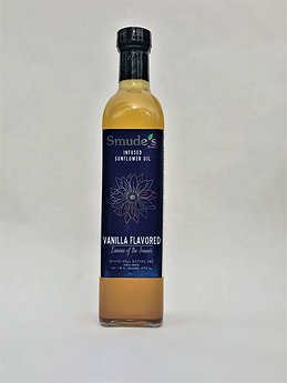 Smude's Pure Vanilla Infused Sunflower Oil - 16oz
