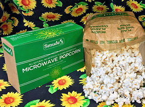 Smude's Brand Natural Microwave Popcorn (Box of 3)