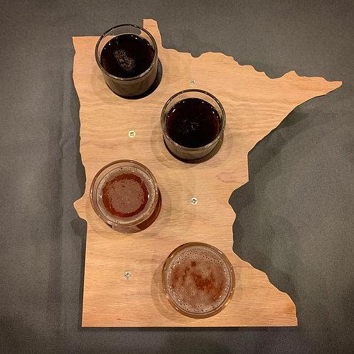Minnesota Flight Board with Glasses