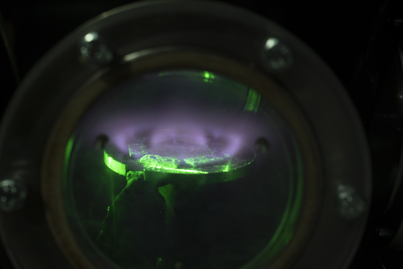 Плазма в высокочастотном разряде
