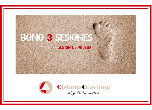Bono 3 sesiones + sesión de prueba