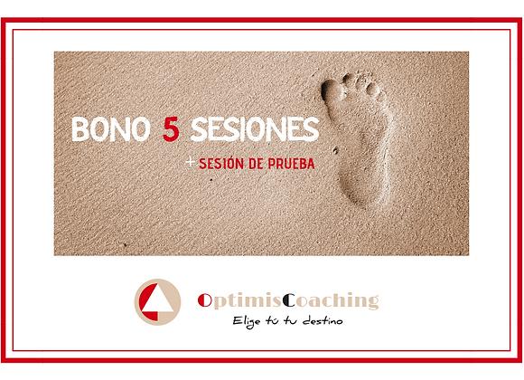 Bono 5 sesiones + sesión de prueba