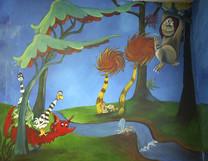Dr Suess Mural