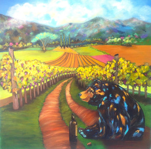 Winery Mural Commission