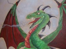 Southlake Dragons Mural
