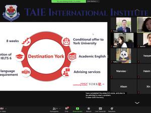 York University Webinar