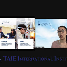 University of Toronto Webinar