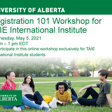 University of Alberta Workshop