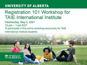 University of Alberta Workshop