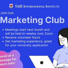 Marketing Club is Back!