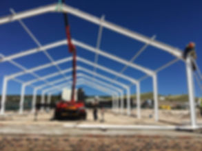 Build with Nuwehoop Steel Structures