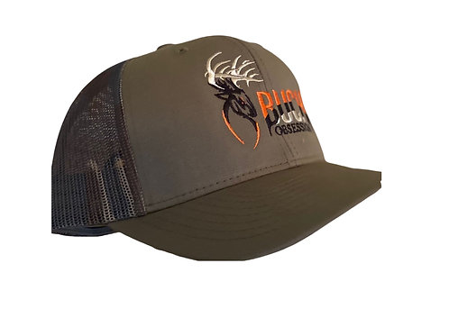 Buck Obsession CamoTrucker Mesh with OD Green Cap