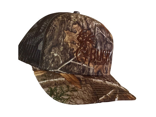 Trucker Mesh Buck Obsession Cap with Realtree Camo