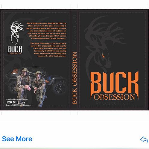 Buck Obsession TV DVD Season 2 & 3