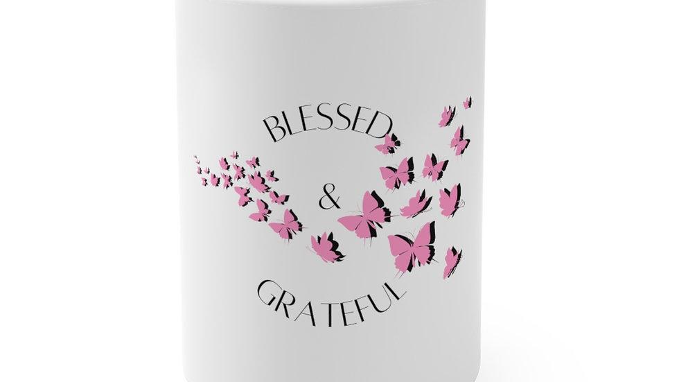 Blessed and Grateful Mug 15oz