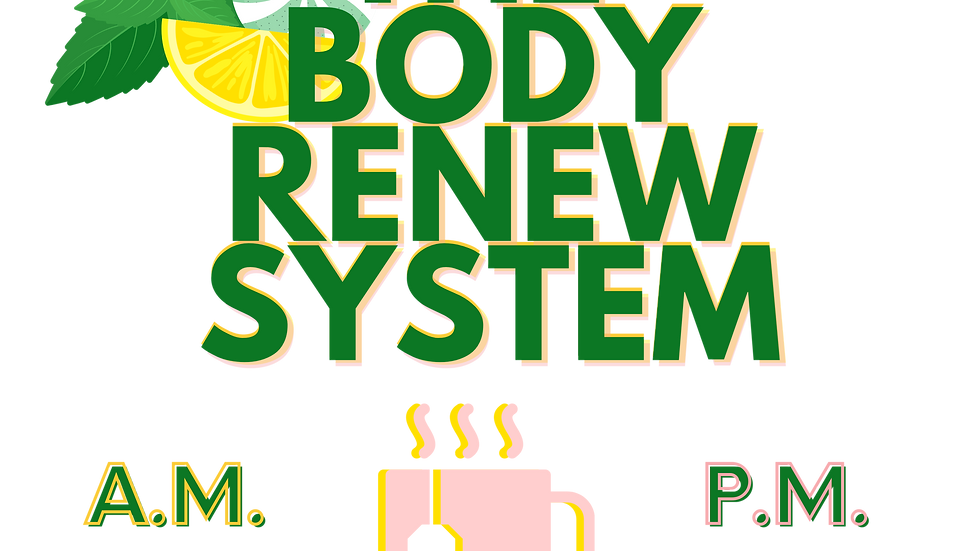 The Body Renew System A.M. & P.M.