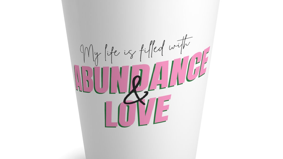 Abundance and Love Mug