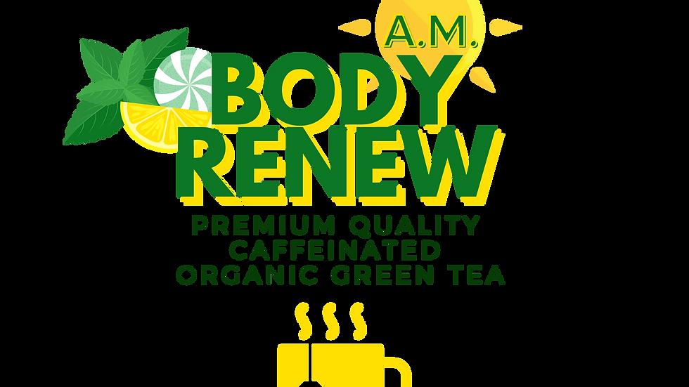 Body Renew AM Organic Green Tea