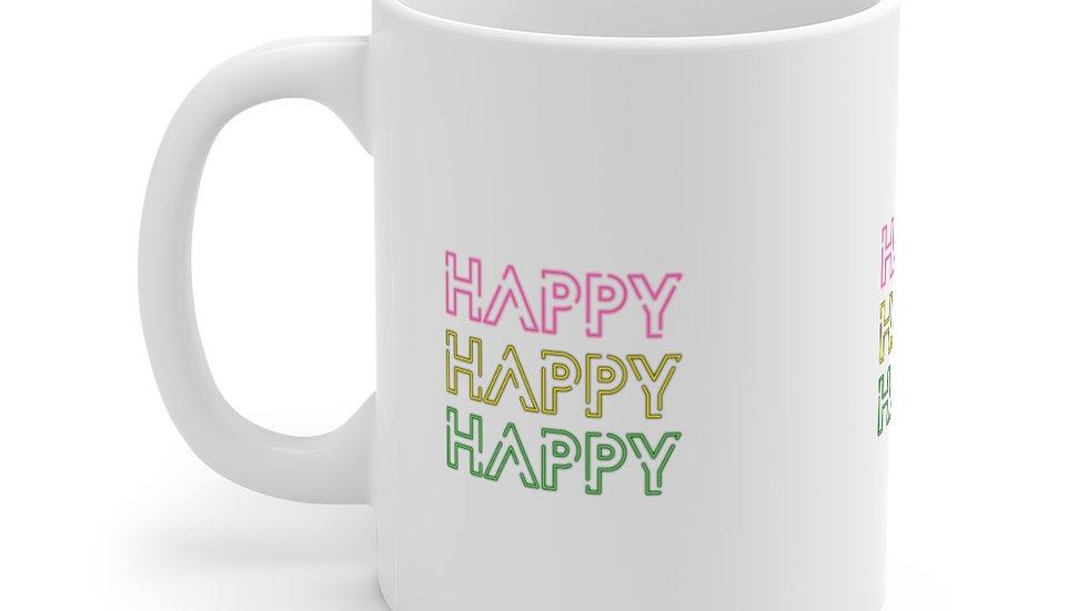 HAPPY HAPPY HAPPY Mug 11oz