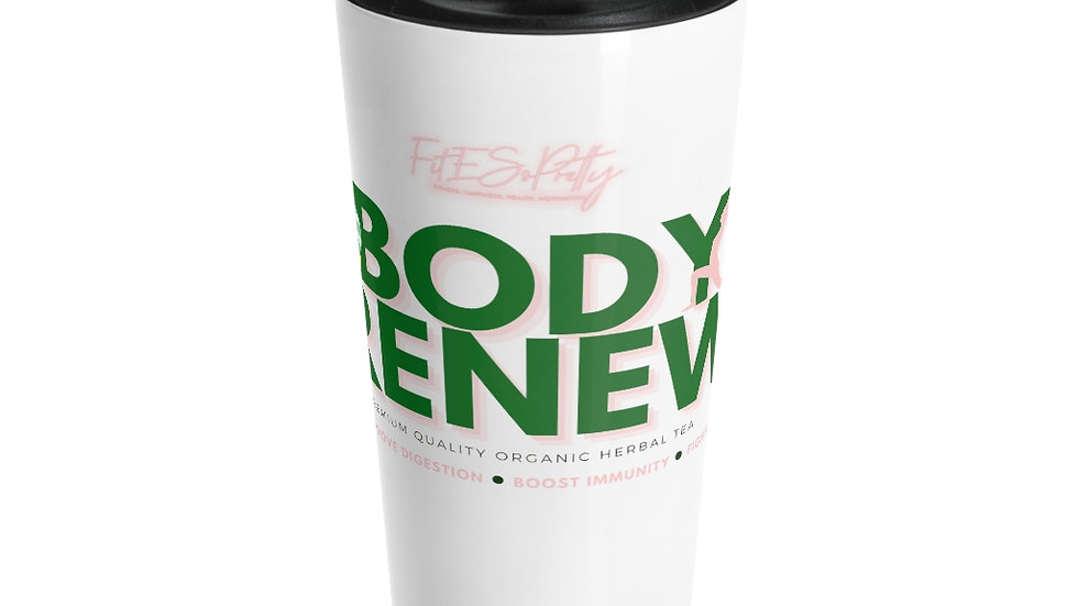 Body Renew Stainless Steel Travel Mug