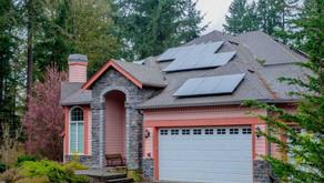 Solar Garage Door