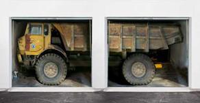 Garage Door Art – not for everyone