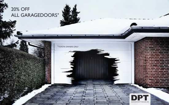 DPT garage door commercial - SF Garage Doors
