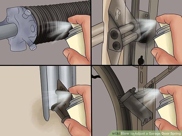Garage door repair maintanance