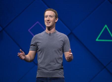 Facebook创办人Mark Zuckerberg公布面子书2020年趋势