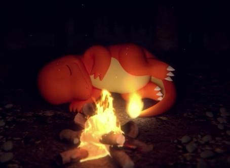 30分钟看着小火龙睡觉!宝可梦推ASMR营火短片,声音行销到底夯什麽?
