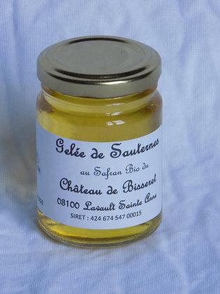 Gelée de Sauternes au Safran