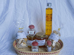 nougats au safran safran miel au safran gelée de sauternes
