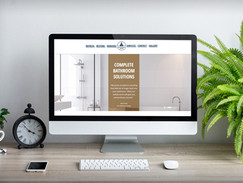 bathroom genie website design