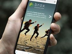 Brox Website on mobile