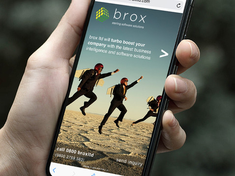 Brox Website on mobile