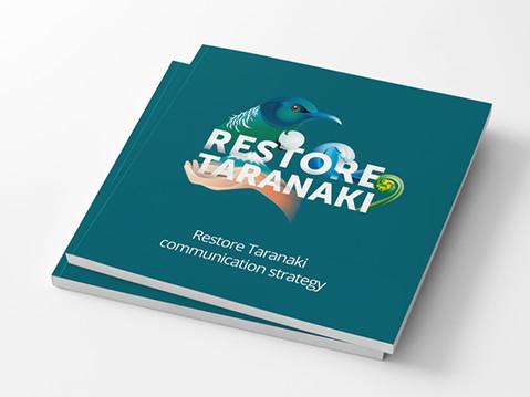 Restore Taranaki brand strategy