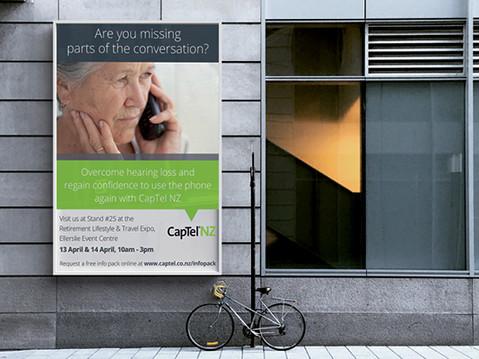 CapTel billboard