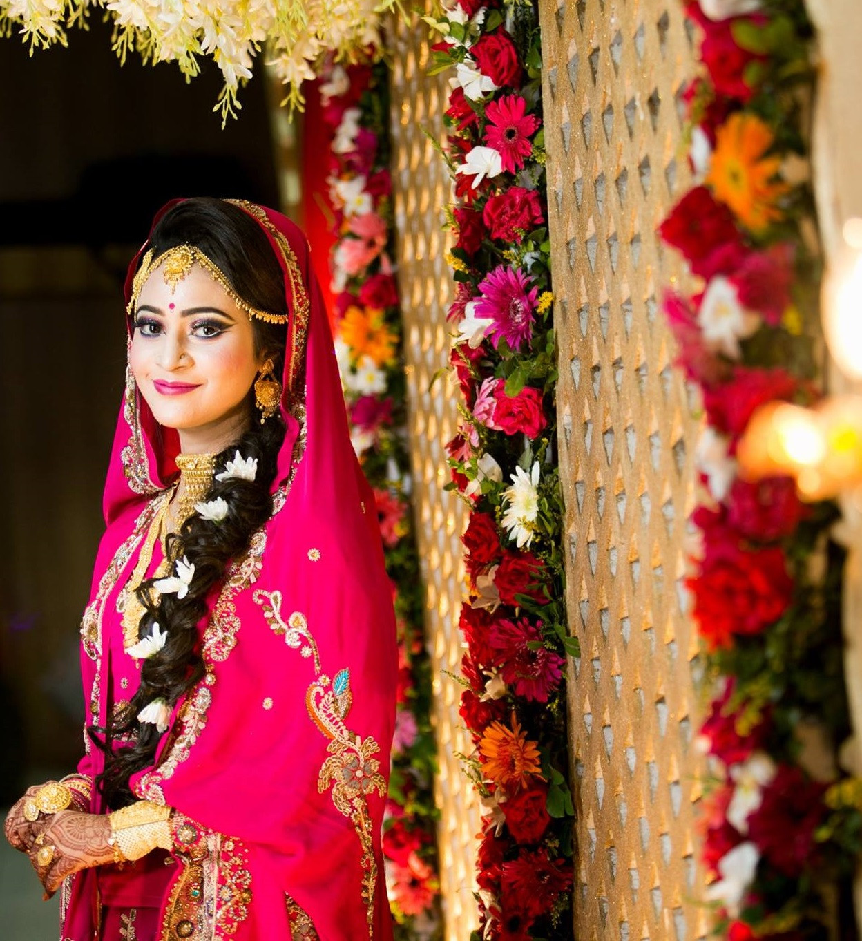 ba2aee35d5a Bengali Indian Bridal Hair Stylist Portland
