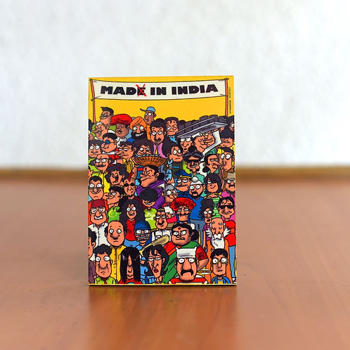 Made in India fridge magnet