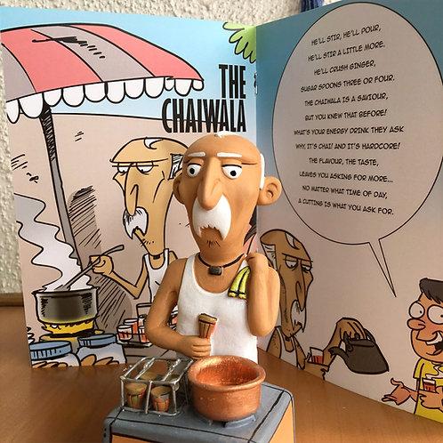 The Chaiwala Terracotta figurine