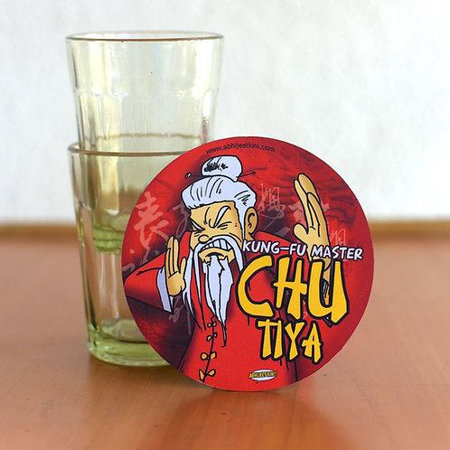Kung fu Master fridge magnet