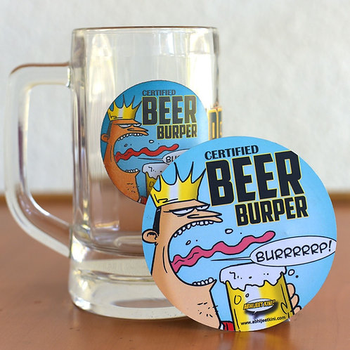 Beer Burper Fridge magnets