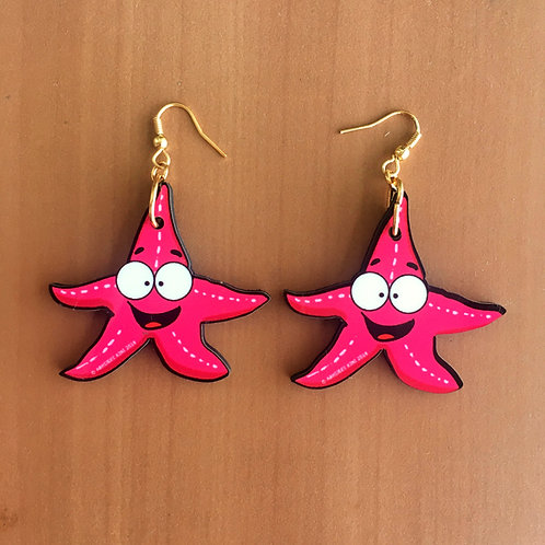 Star fish Earrings!