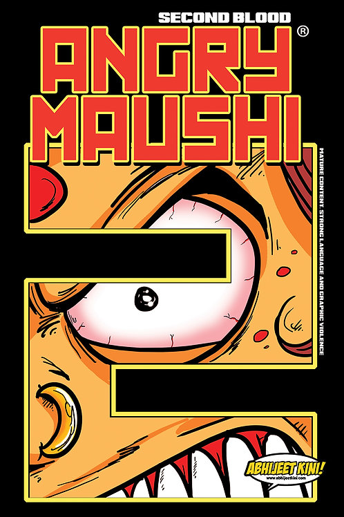 E-COMIC Angry Maushi Issue #2 SECOND BLOOD