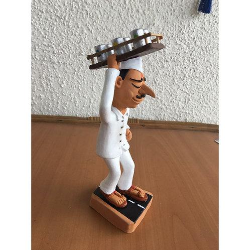 Dabbawala Terracotta Figurine